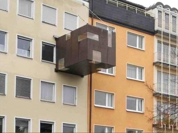 Балконопристройки балконы, крутость. архитектура, строительство, фасад
