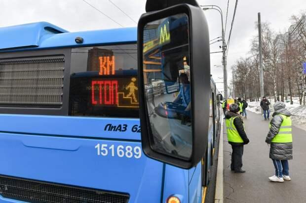 Около 200 автобусов будет работать на линии от «Дубровки» до «Волжской»