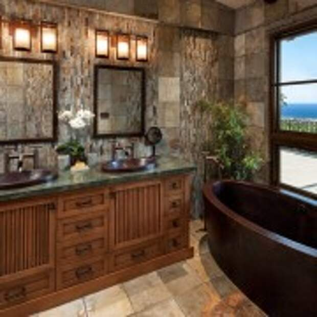 Стилизованная ванная комната