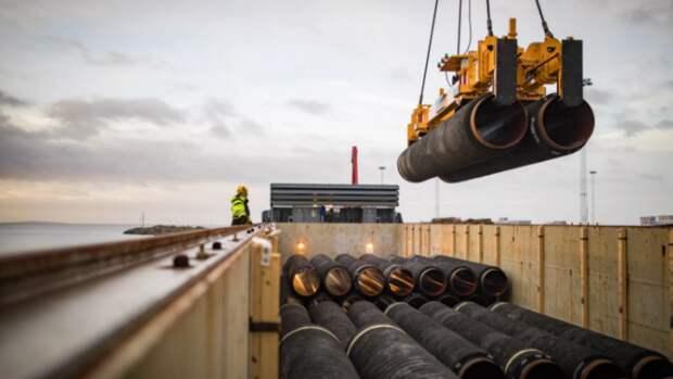 Строительство «Северного потока— 2» переходит взавершающую стадию