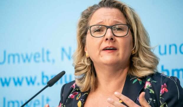 Германии необходим «Северный поток-2», считает министр окружающей среды ФРГ