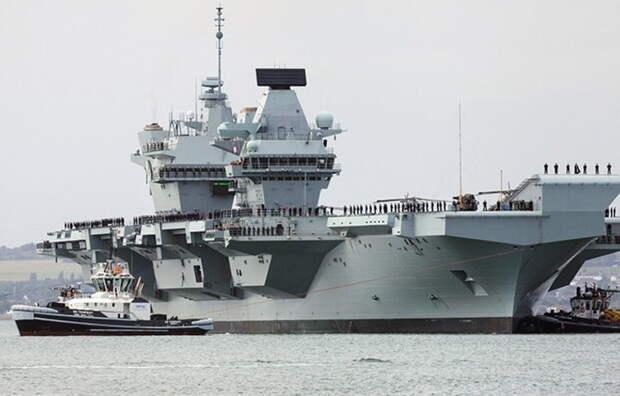 ВМФ России запланировал ракетные стрельбы вблизи от авианосца Британии