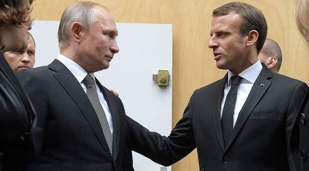 Макрон призвал Запад очертить красные линии для России