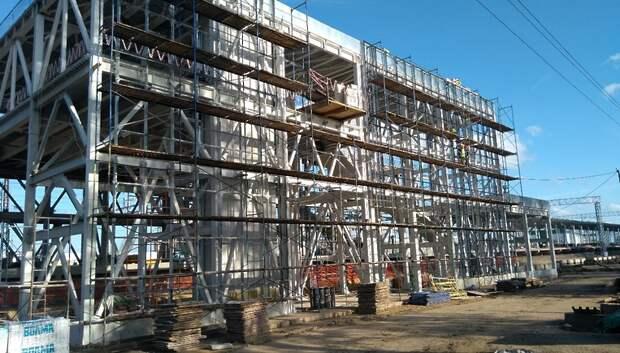 Отделочные работы начались на новой платформе Курьяново МЦД‑2 в столице