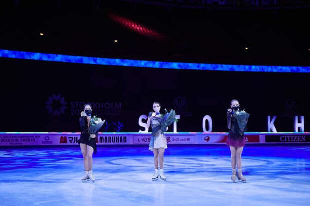Российские фигуристки заняли все призовые места чемпионата мира