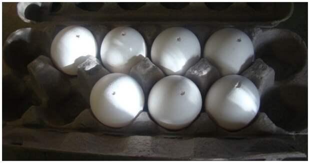 Очень красивый способ покраски яиц на Пасху