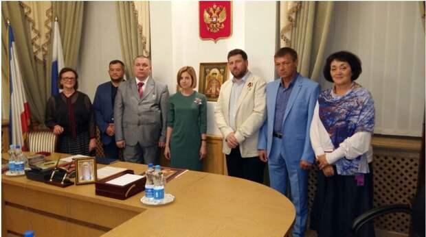 Защитникам выходки прокурора Поклонской.
