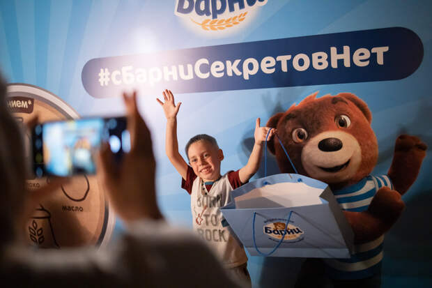 С Барни секретов нет. «Медвежонок Барни» запускает серию познавательных экскурсий для малышей