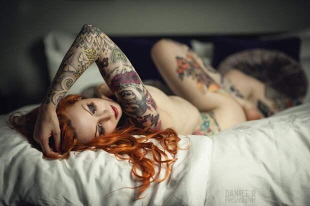 Красивые девушки и их милые татуировки