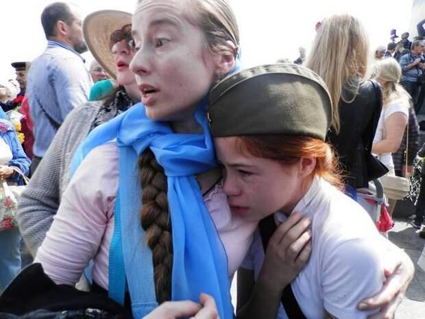 В День Победы нацистам не удалось победить дух маленькой девочки