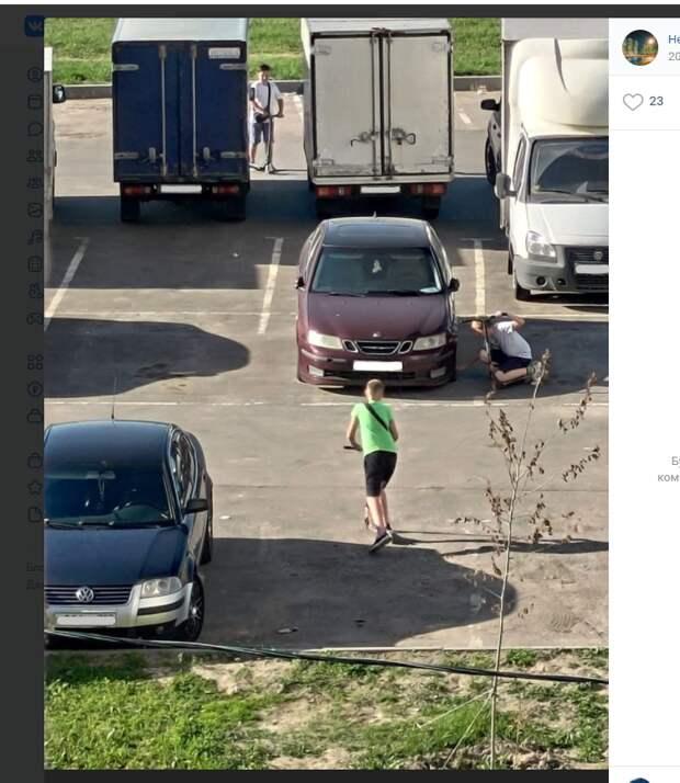 Автовладельцы из Некрасовки опасаются малолетних хулиганов