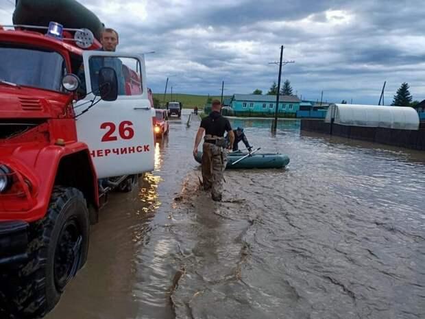Опасный паводок сохраняется в Забайкалье