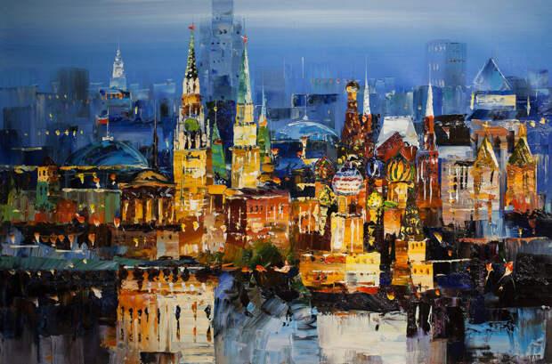 Романтика ночных городов в творчестве современных художников