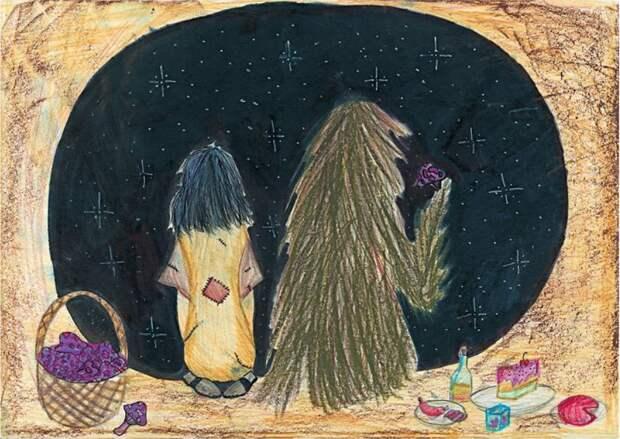 Как российские дети иллюстрируют Джоан Роулинг (КАРТИНКИ)