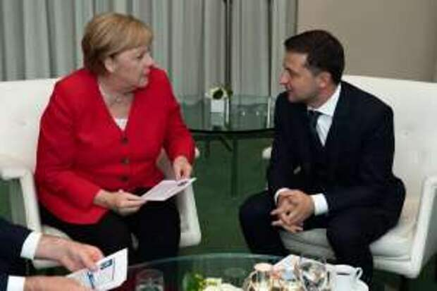 """«Когда речь идёт о """"Северном потоке"""", дружба заканчивается»: немецкие СМИ о встрече Зеленского с Меркель"""
