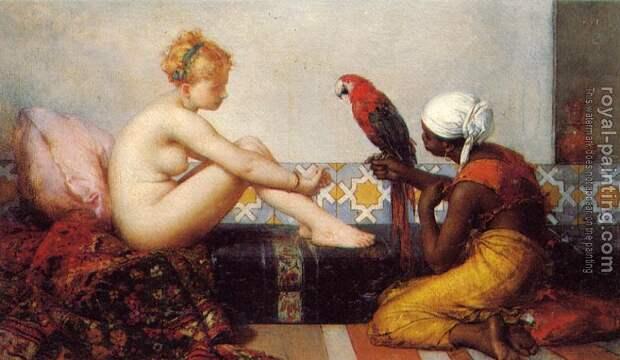 Обнаженная натура в изобразительном искусстве разных стран. Часть 154.