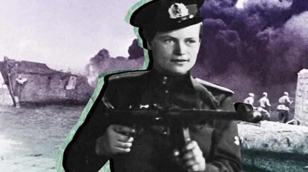 Эта женщина командовала взводом морских пехотинцев во Второй мировой