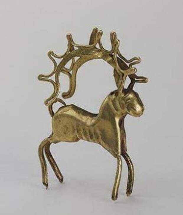 2400 лет назад в Иран,олень--