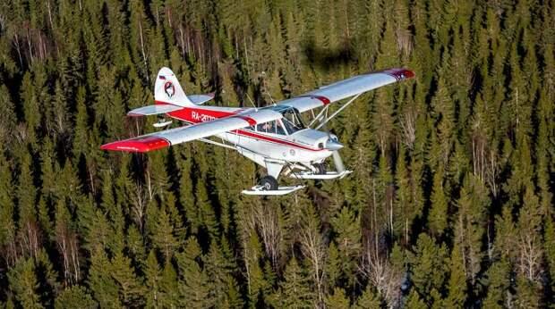В Иркутской области разбился самолет - фото