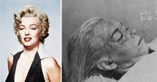 10 шокирующих подробностей смерти Мэрилин Монро.