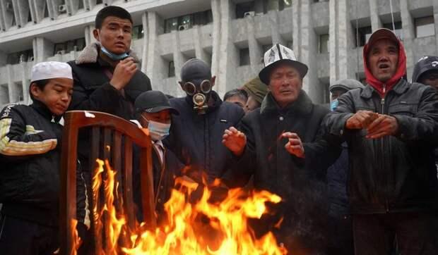 К чему привели акции протеста в Киргизии