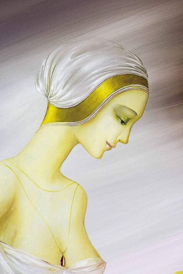 Художник Philippe Auge. Обретённый рай