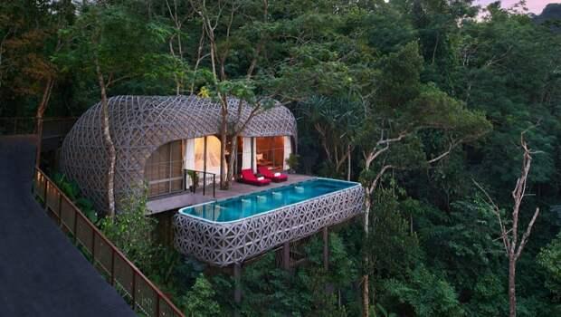 Отели, воплотившие детскую мечту о доме на дереве