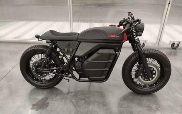 «Калашников» показал свой новый мотоцикл