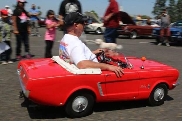 Ford Mustang авто, игрушка, копия, миниавтомобиль, моделизм, модель, самоделка, своими руками