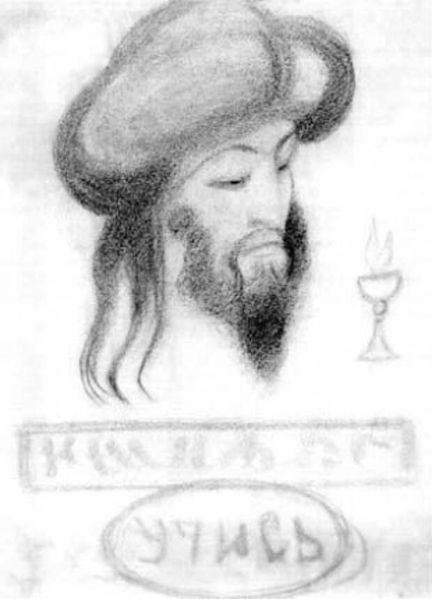 Во время спиритических сеансов Рерих входил в транс и делал рисунки.
