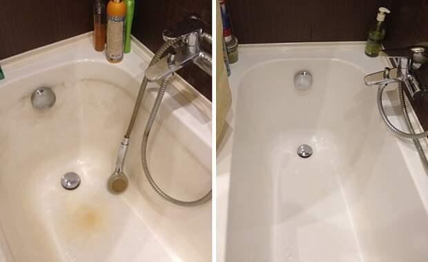 Чудо - смесь для чистки ванны