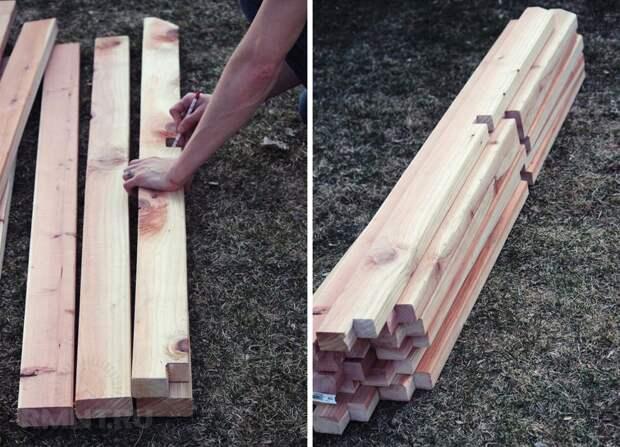 Как построить перголу для винограда своими руками