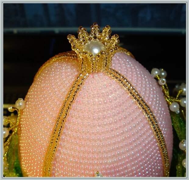 Восхитительное пасхальное яйцо с ландышами