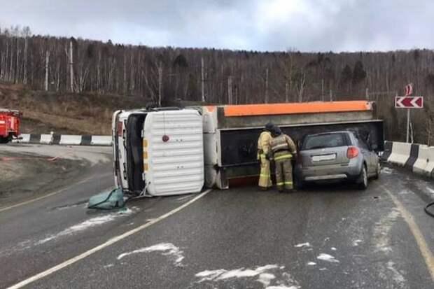Четыре человека погибли и еще 40 пострадали в ДТП в Иркутской области за неделю