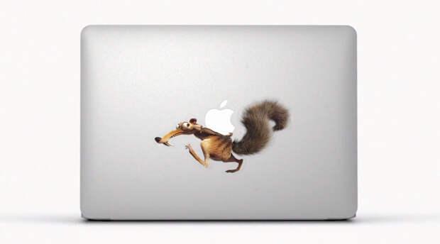 Apple поиграла с яблоком