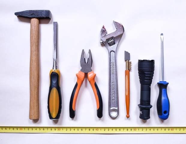 Инструменты, Работа, Ремонт, Молоток, Отвертка