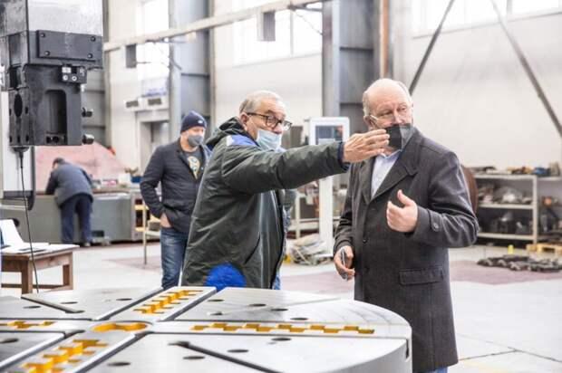 Накраснодарском ЮЗТС изготовили новый станок для крупнейшего сталелитейного завода