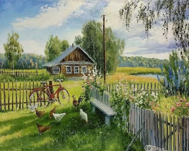 художник Олег Пятин картины – 20