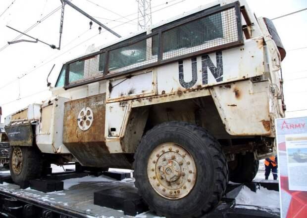 Трофейная военная техника из Сирии