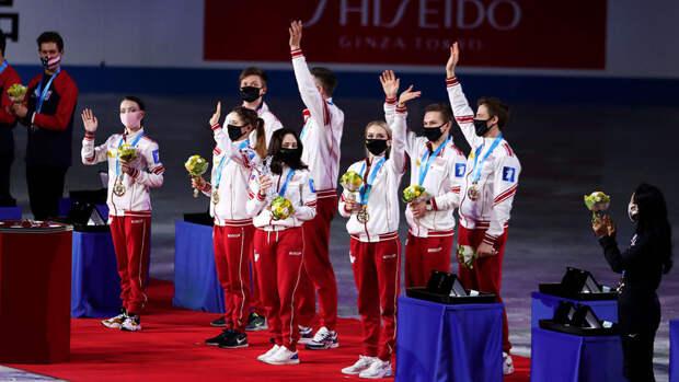 Сборная России впервые в истории стала победителем командного ЧМ