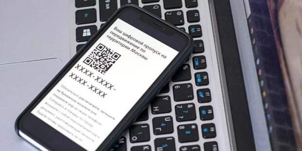 Власти разъяснили как восстановить цифровой пропуск для поездок на работу Фото: mos.ru