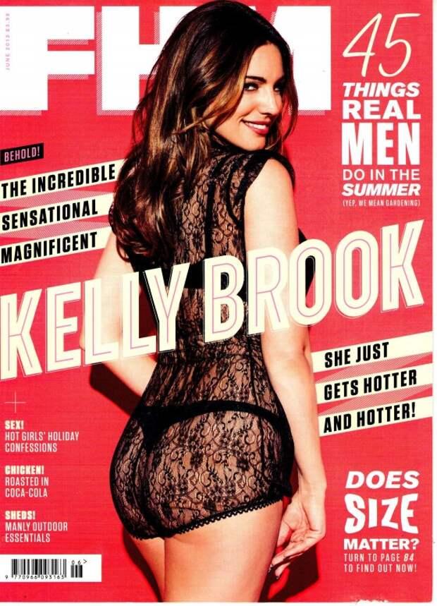 «FHM Magazine» за июнь 2013 года: Келли Брук