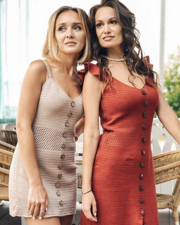 35 шикарных вязаных моделей одежды для летнего сезона