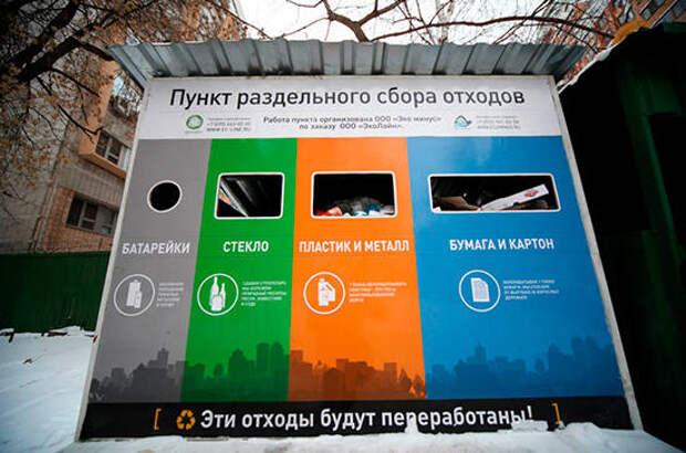 Раздельный сбор мусора перезапустят по новым правилам