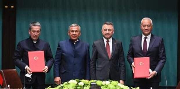 """""""Татнефть"""" намерена развивать сотрудничество с Турцией"""