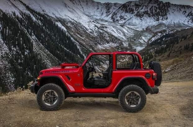 Jeep Wrangler Rubicon авто, автодизайн, автомобили, внедорожник, двери, дверь, дизайн, интересные автомобили