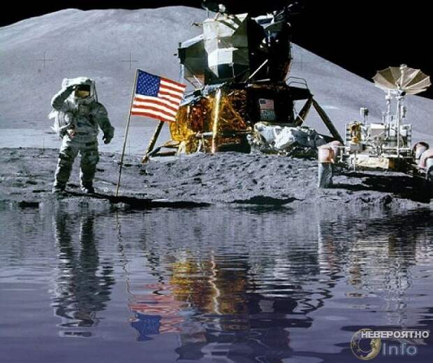 Про лужи на Луне
