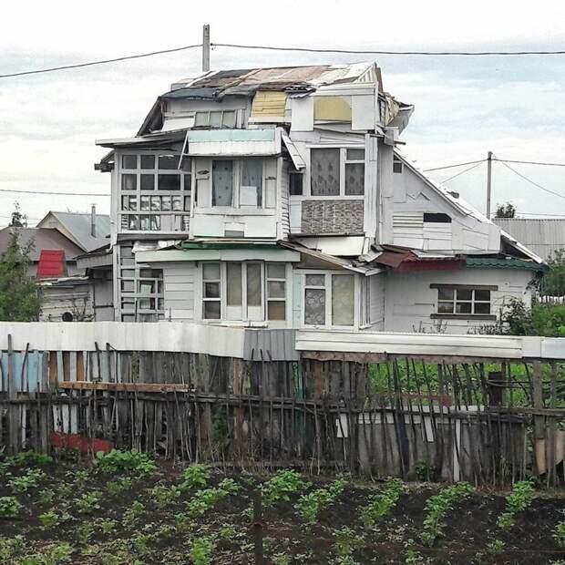 Я его лепила из того, что было балконы, крутость. архитектура, строительство, фасад