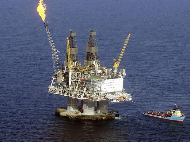 Платформа добыча нефти