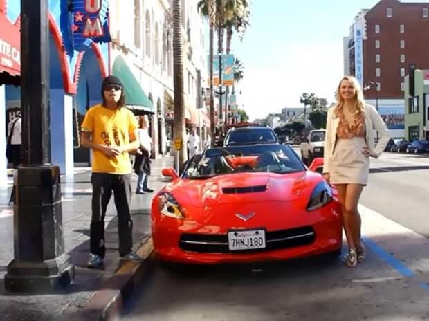 Шутка пранкера: девушка и автомобиль (ВИДЕО)